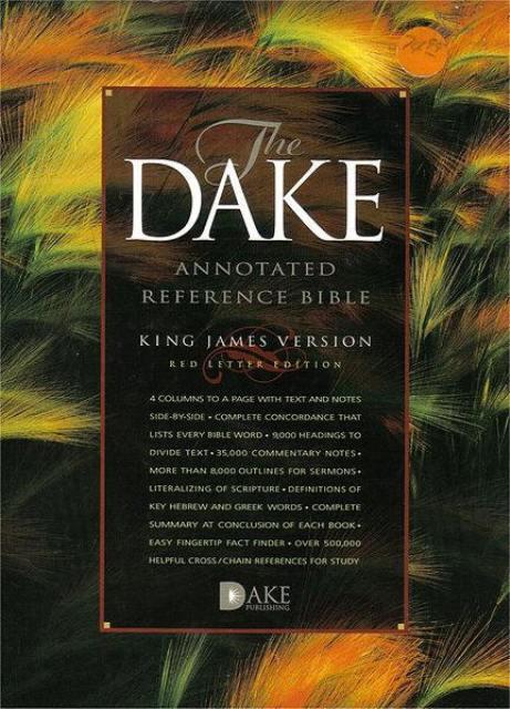 Finnis Dake Bible