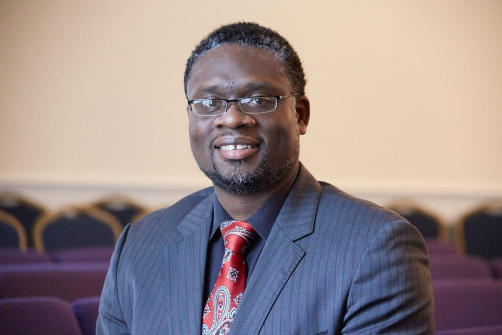 Minister Alex Agyemang